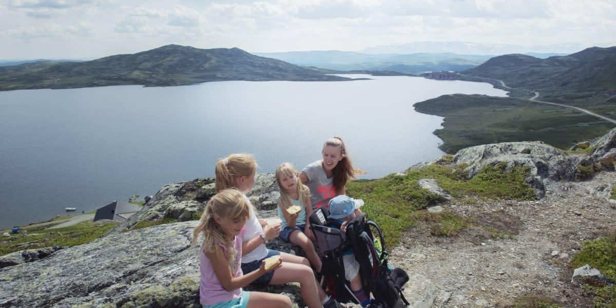 Bergsjøen rundt, Ål i Hallingdal