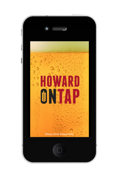 HowardOnTap App Image