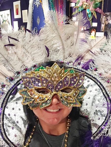 Mardi Gras Museum Selfie