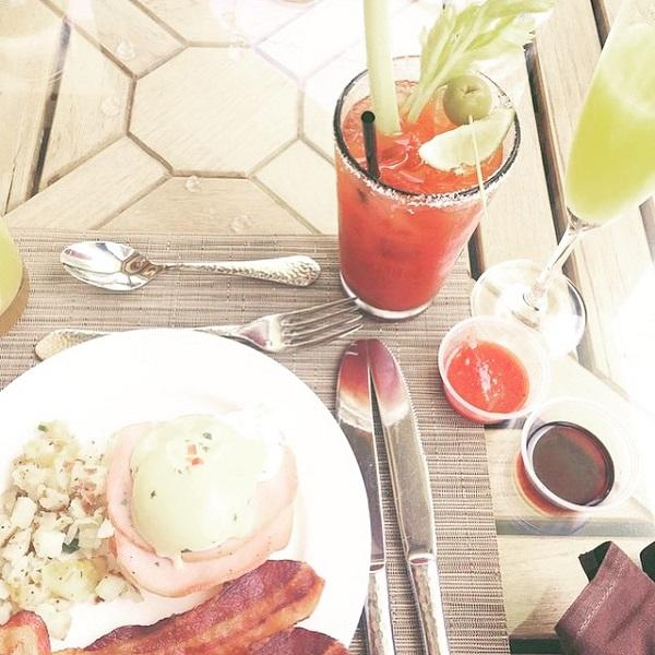 Bloody Mary's and Mimosas at Waterfront