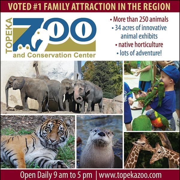 Topeka Zoo Homepage Ad