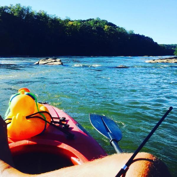 Island Ford Kayaking