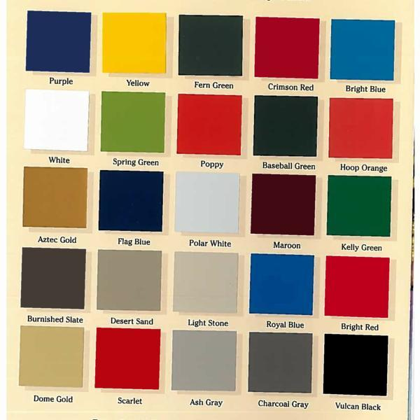 Coating color swatch