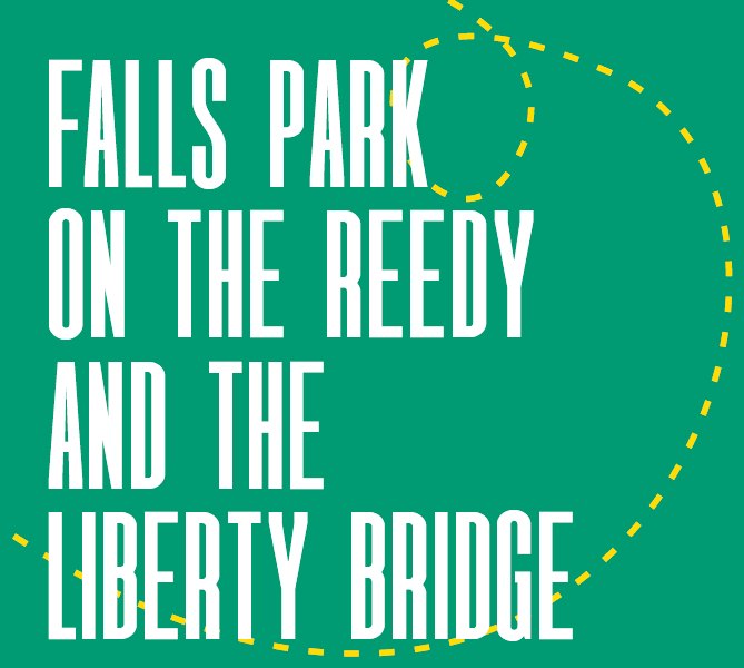 Falls Park on the Reedy and the Liberty Bridge
