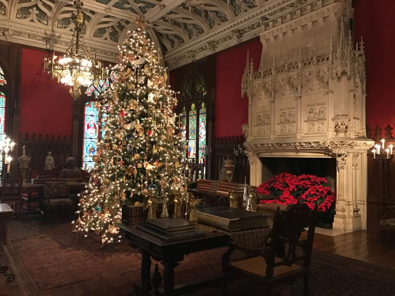 Marble House Christmas