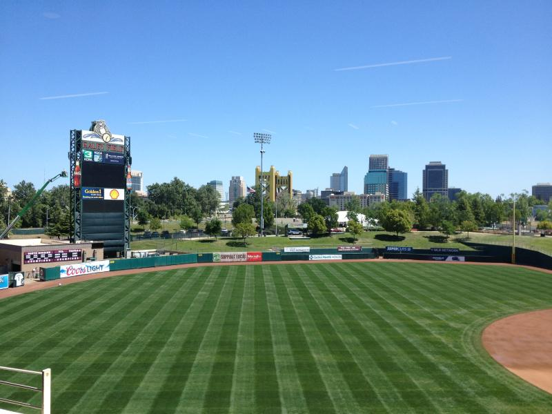 Raley Field, home to Sacramento River Cats