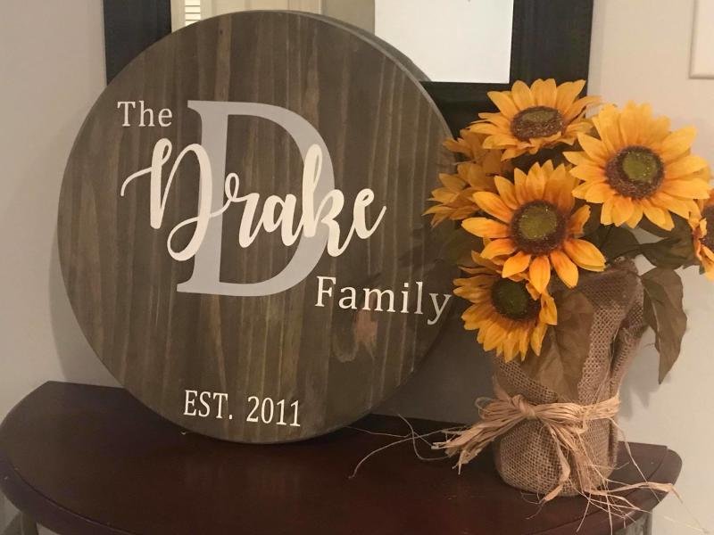 Create fun wooden signs with The Wood Canvas.