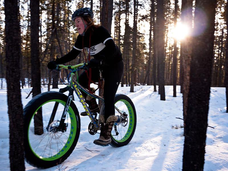 Fat Biking Laurel Highlands