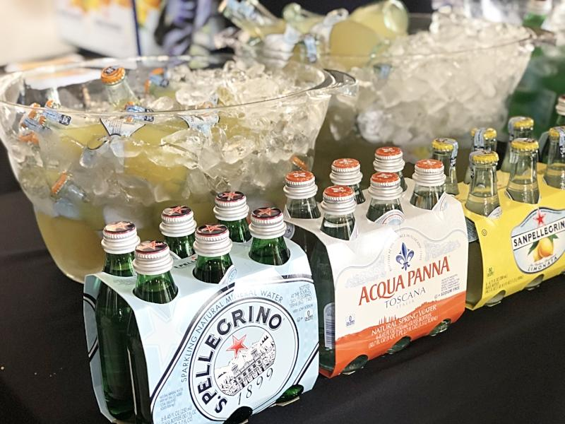 Beverages at OCRW Launch Party