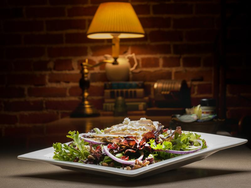 Grilled Chicken & Craisin Salad, Photo by John Hartman, Contemporary Photography
