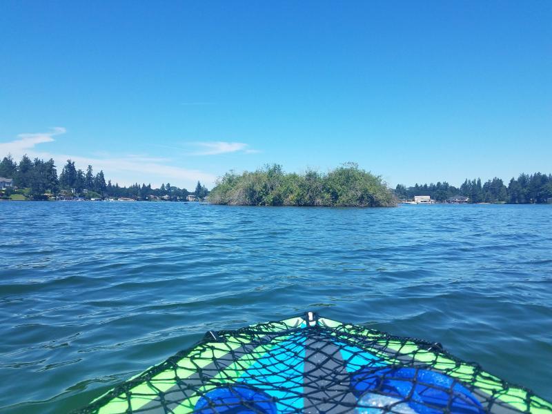 Kayaking at Lake Steilacoom