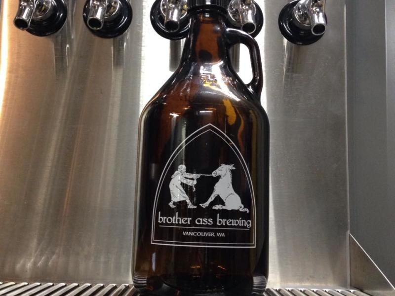 brother ass brewing growler