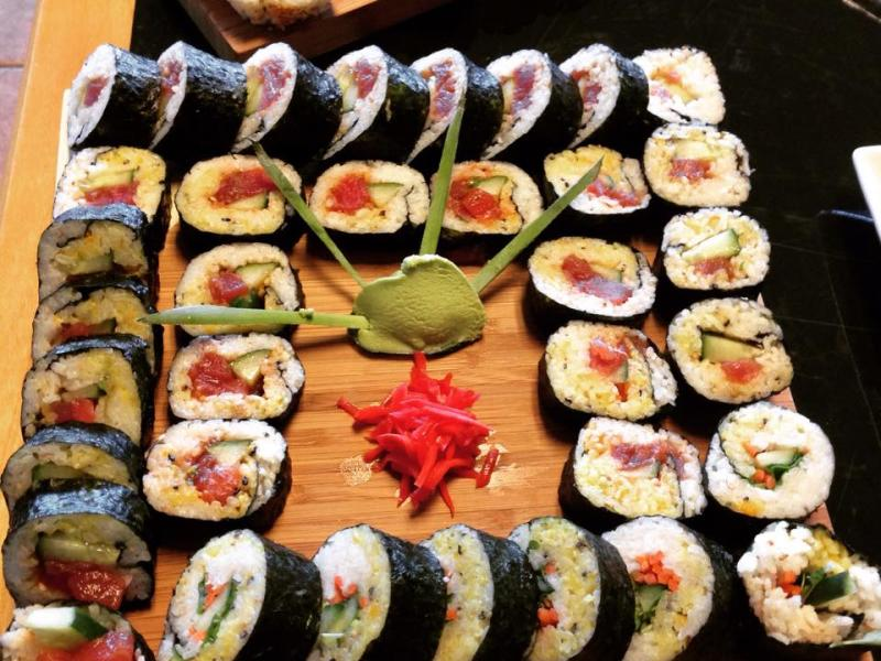 Kiawe Island Bistro sushi