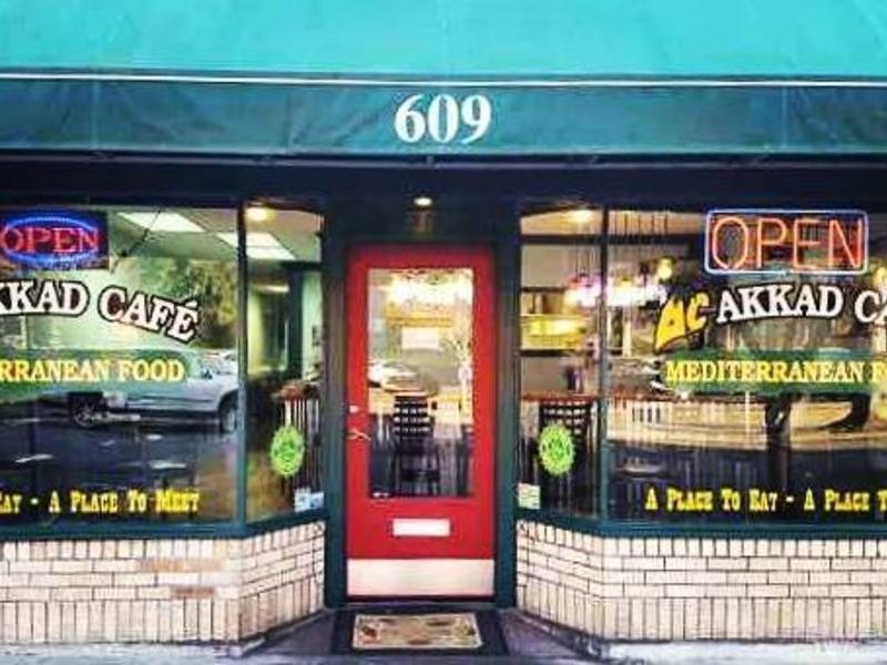 Akkad Cafe storefront