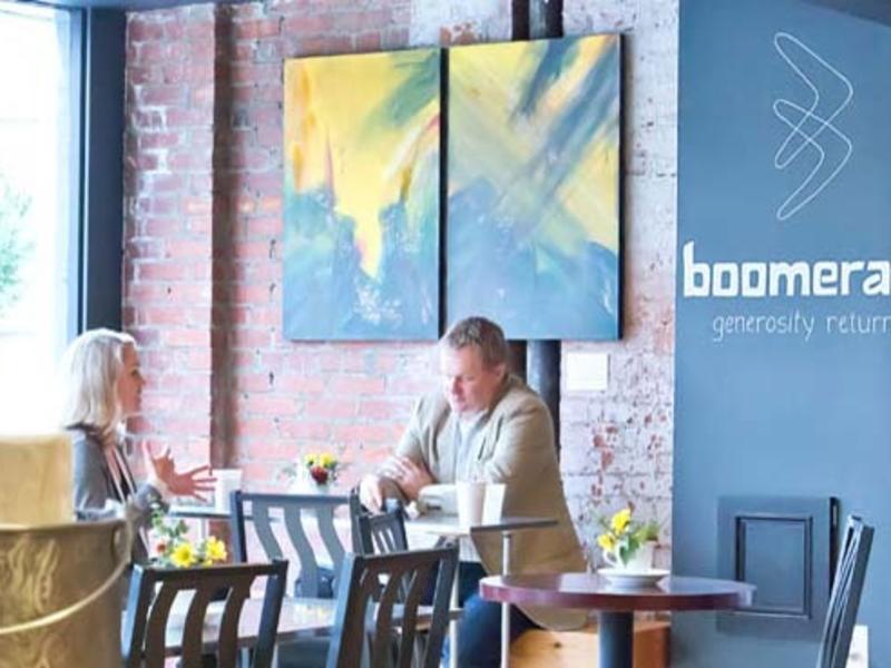 Boomerang Interior