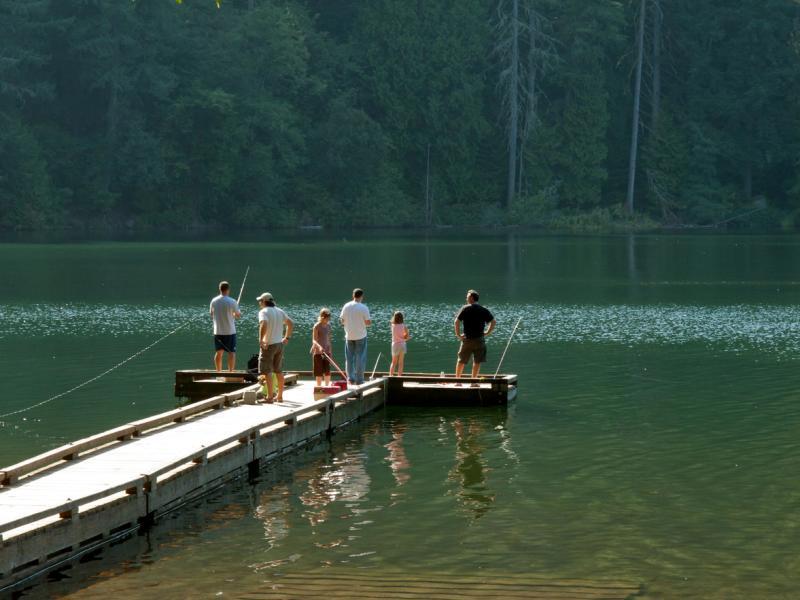 Battle ground lake state park for Battle ground lake fishing