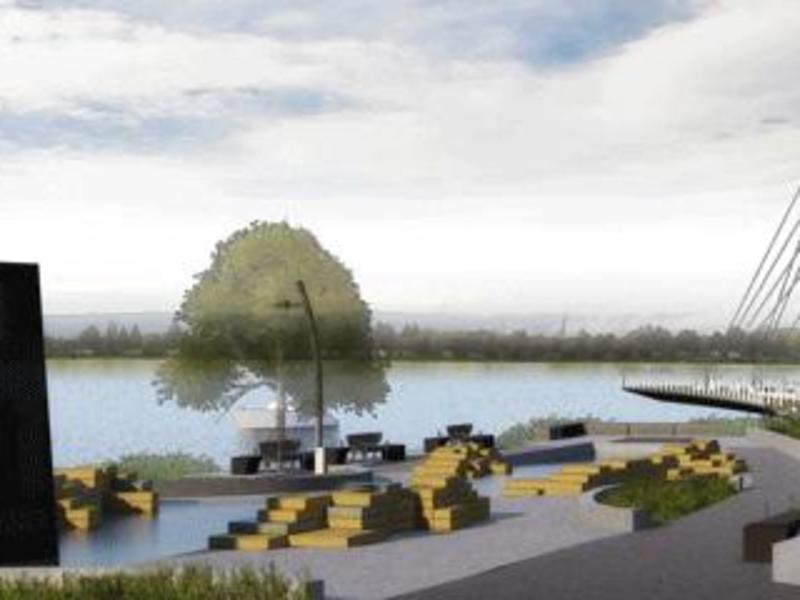 Vancouver Waterfront Park Rendering