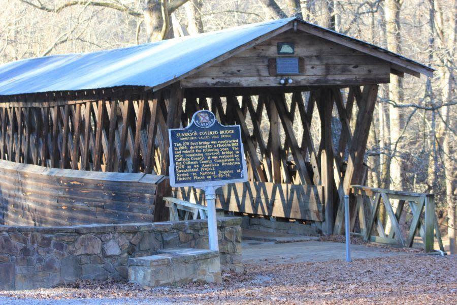 Clarkson-Legg Covered Bridge – Cullman County