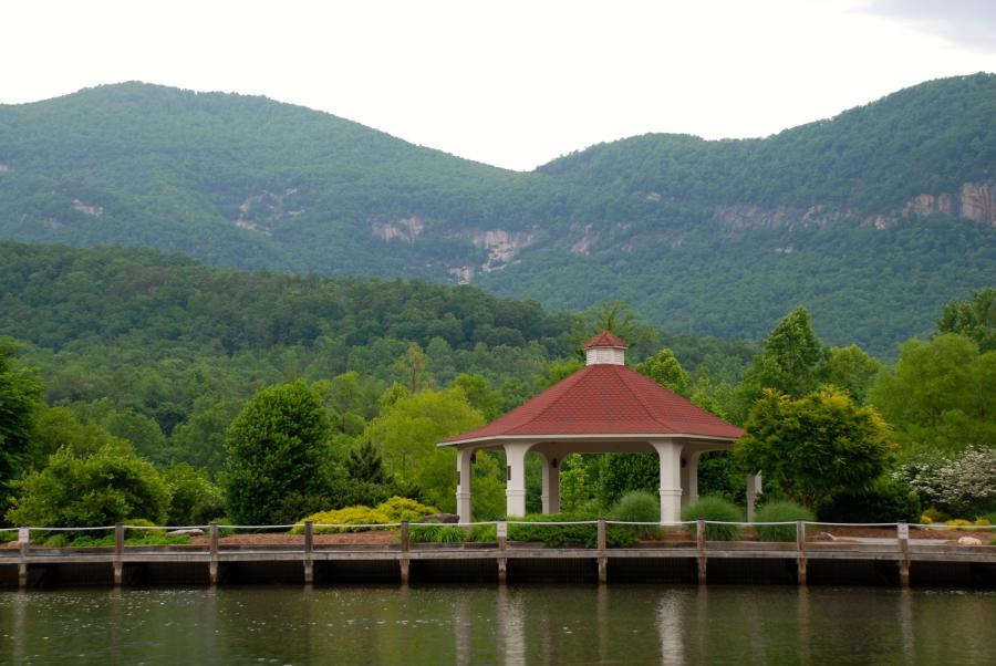 Gazebo at Lake Lure