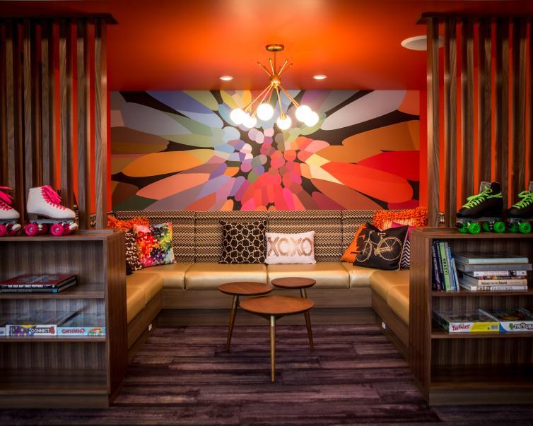 Lobby at Hotel Zed