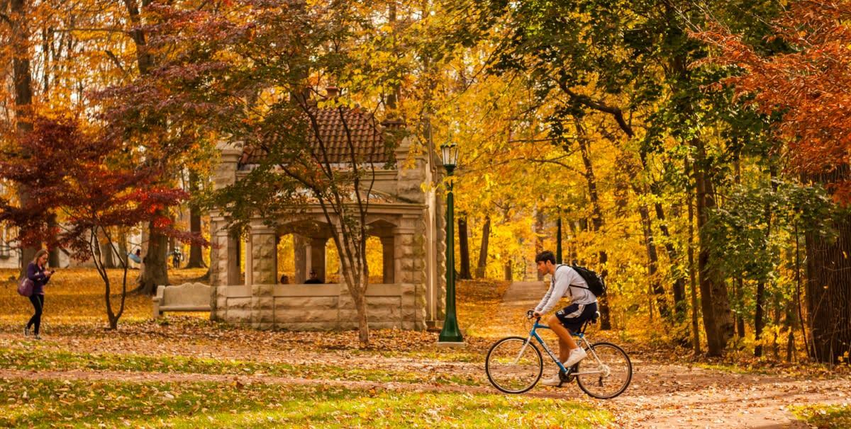campus trails