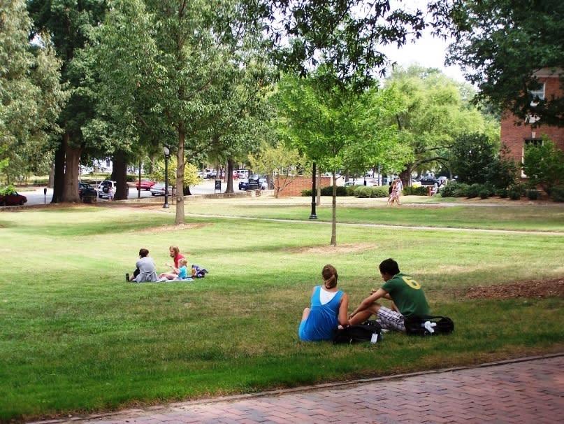 Open Spaces on UNC Campus