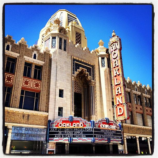 fox theater oakland