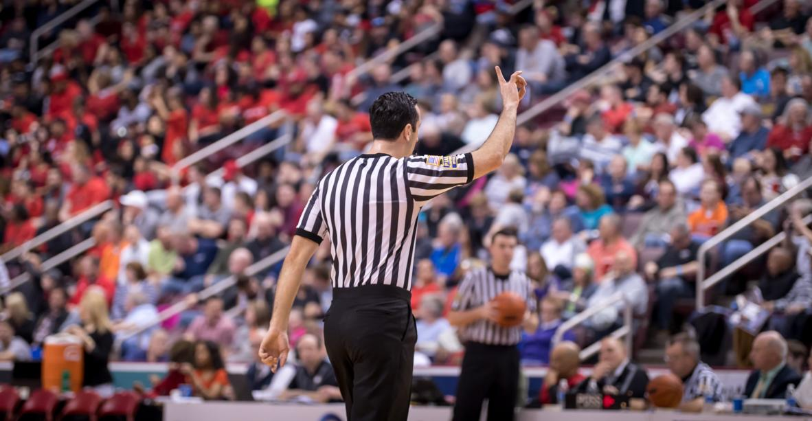 PIAA Basketball at Giant Center in Hershey Official Shot