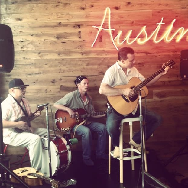 Adam Ahrens at Local and Live music series