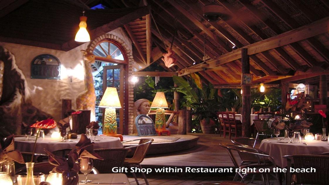 Gift shop within restaurant