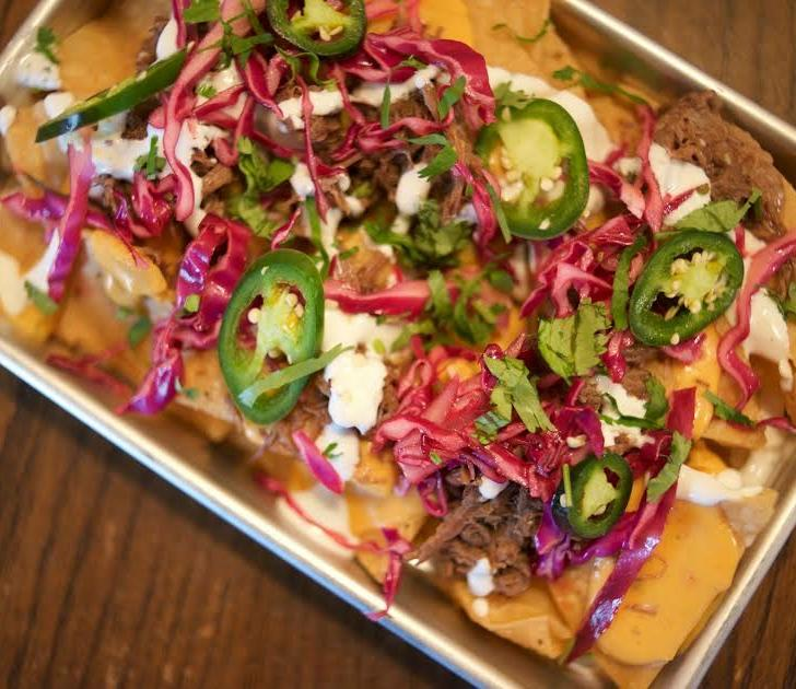 What the Truck Nachos at The Winchester in Grand Rapids