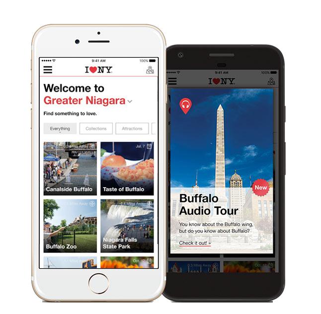 I LOVE NY app mobile v4