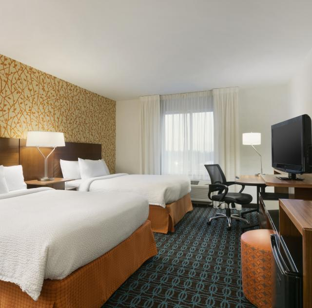 Fairfield Inn & Suites Double Room