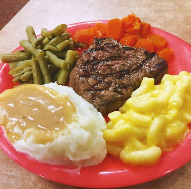 Golden Corral Plate 2