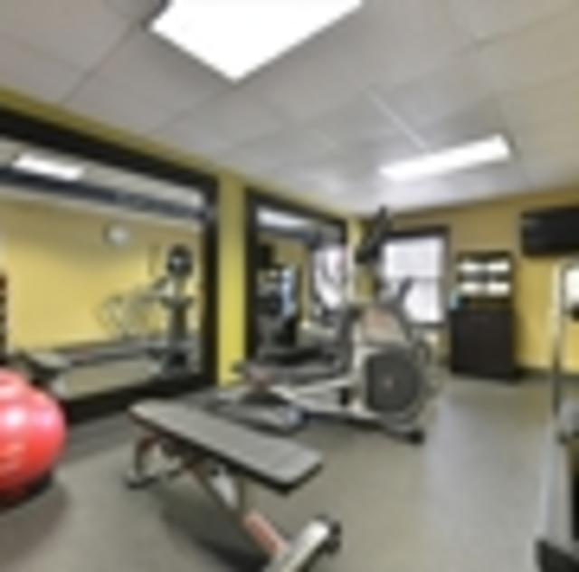 Hampton Inn Garner Fitness Room