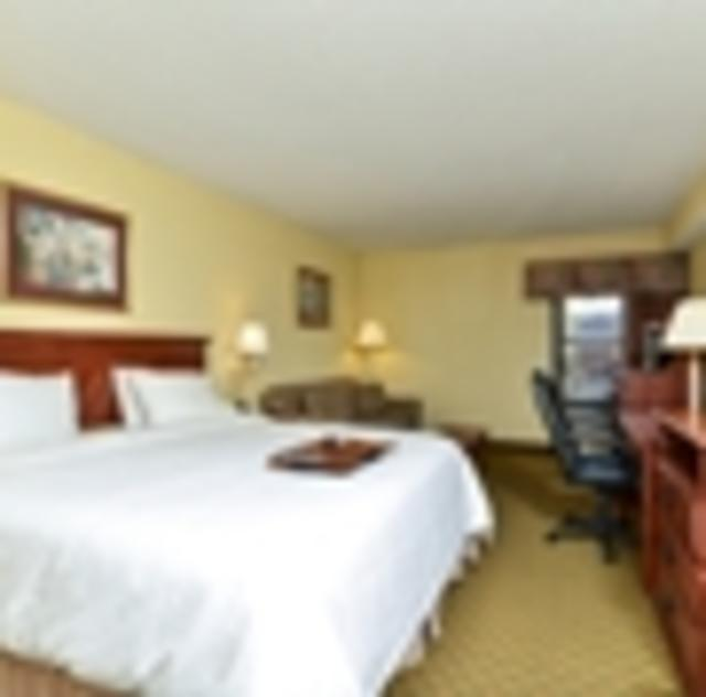 Hampton Inn Garner King Room