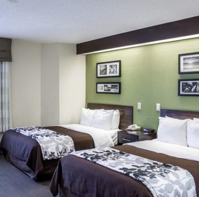 Sleep Inn Garner Double Room