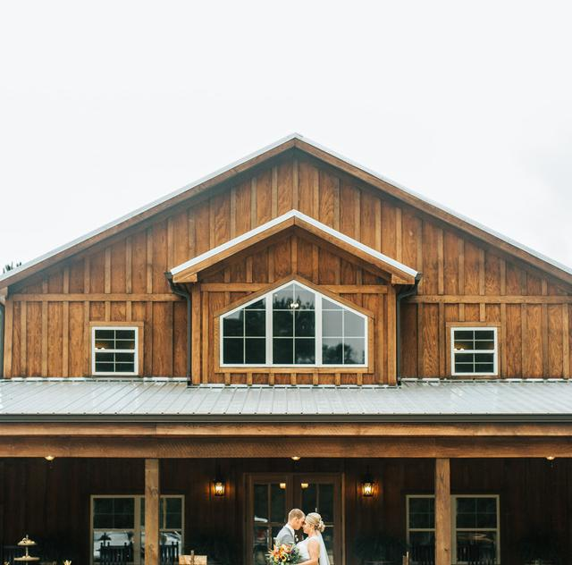 The Barn at Broadslab Wedding