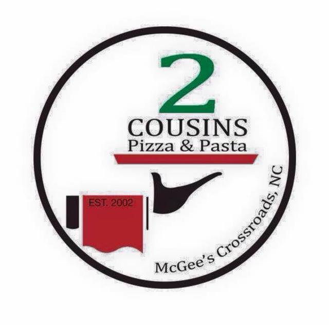 Two Cousins Pizza & Pasta Logo