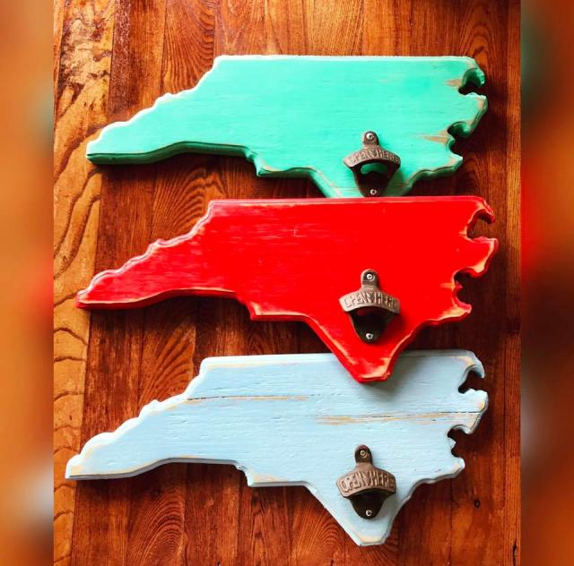 NC State Bottle Openers