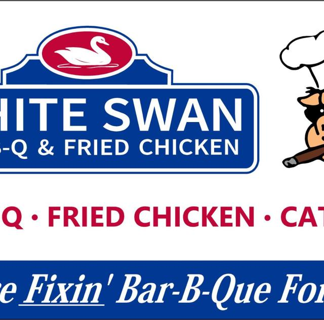White Swan Bar-B-Q Logo
