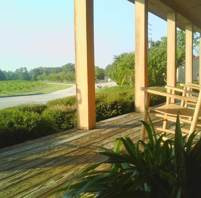 Gregory Vineyard Porch
