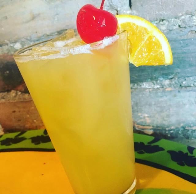 The Flipside Yellow Hammer Drink