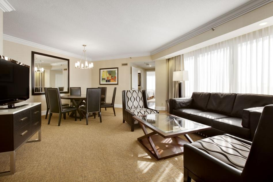 Embassy Suites Presidential parlor