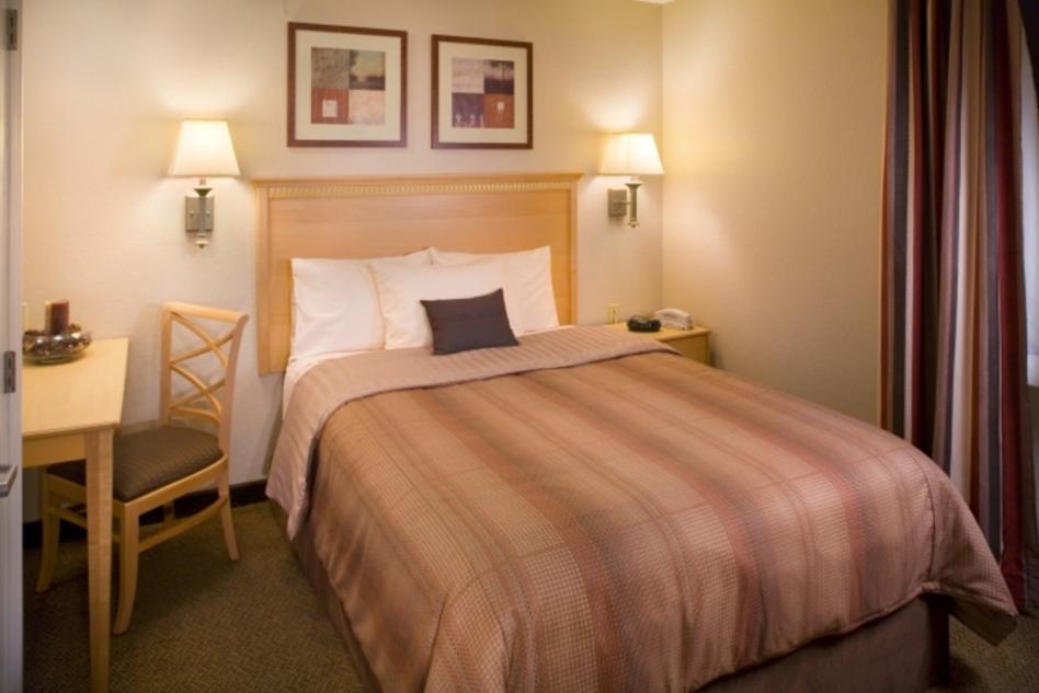 One Bedroom Suite Sleeping area