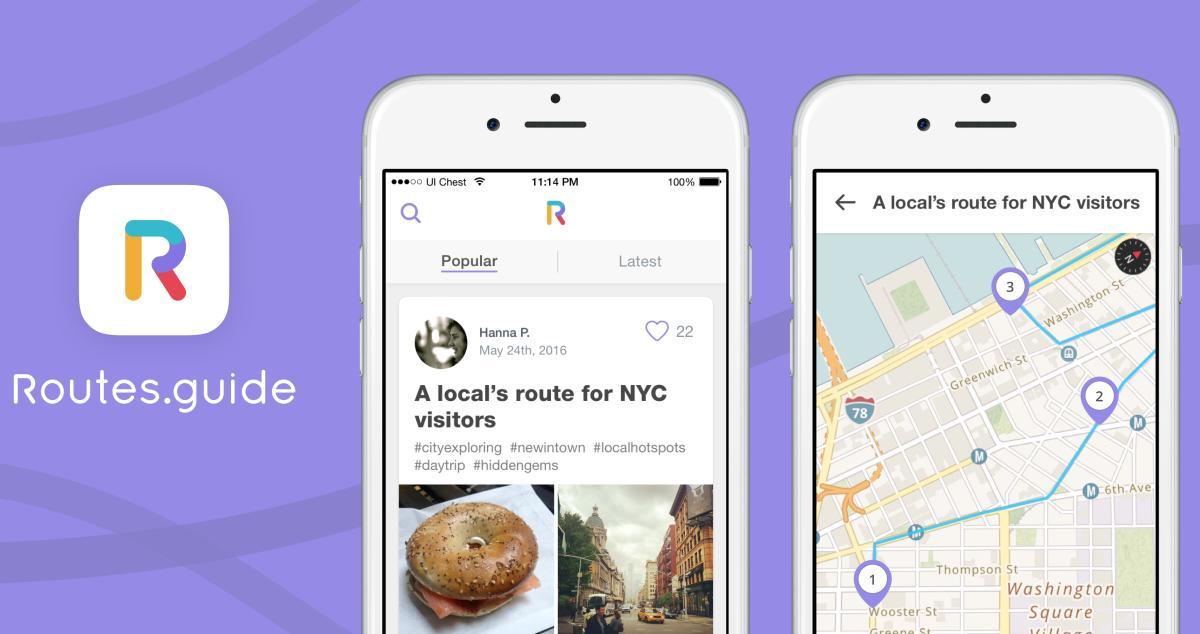 Routes.guide app