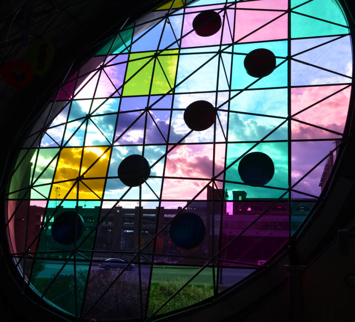 Stained Glass Window at The Museum of Play