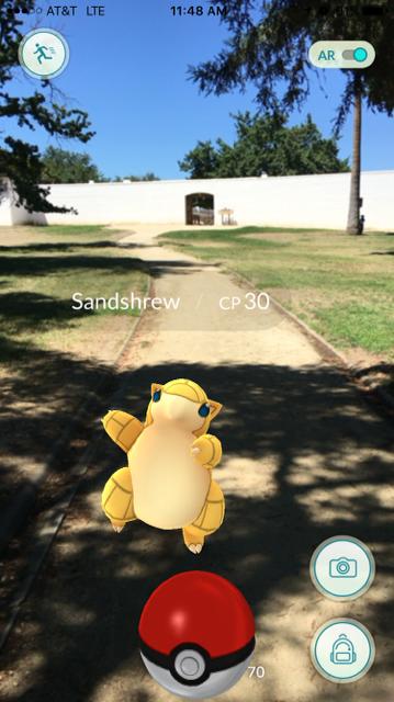 What is Pokemon Go in Sacramento