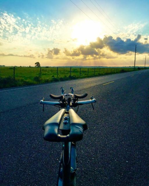 Hit the road with a bike ride around Lake Charles.