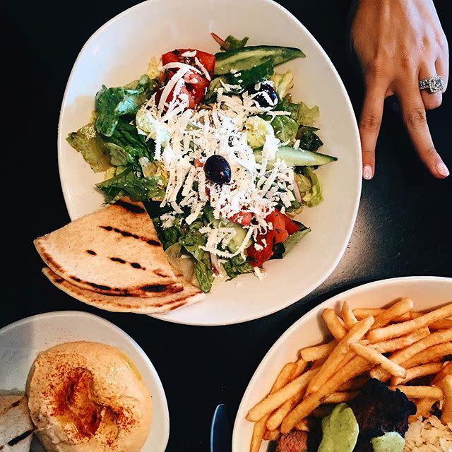 Olive Pit Salad